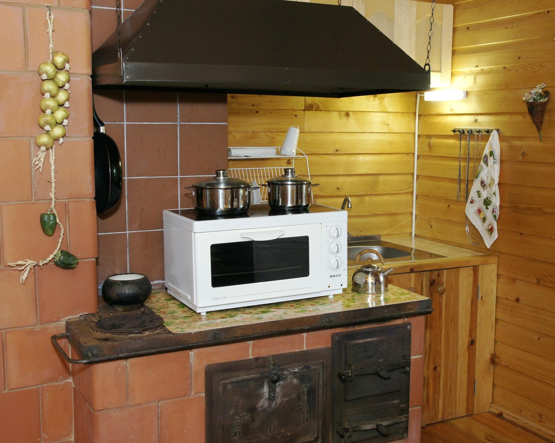 кухня второго дома