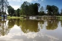 Берег озера Бебрус